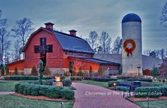 Now Studio 25 Decor - Providing and Designing Commercial Seasonal and Christmas Decorations. Commercial Christmas Decorations, Classic Christmas Decorations, Billy Graham Library, Seasonal Decor, Seasons, Mansions, Studio, House Styles, City