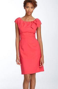 $128 Donna Ricco Tunnel Neck Sheath Dress