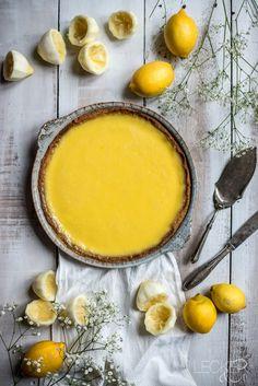 Lemon Tarte   Zitronentarte - LECKER&Co   Foodblog aus Nürnberg