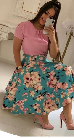 50 Ideas For Skirt Outfits Modest Simple Modest Dresses, Modest Outfits, Skirt Outfits, Classy Outfits, Modest Fashion, Cute Dresses, Dress Skirt, Casual Dresses, Fashion Dresses