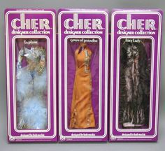 Outfits like the ones I had for my Cher doll. I mean come on, how awesome are these?