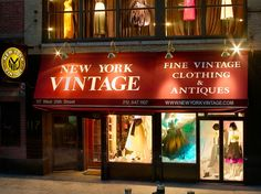 New York to shop! 5 vintage shops we love