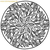 advanced mandala coloring page1 adults coloring pages printable coloring - Adult Coloring Pages Mandala