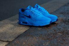 "Nike Air Max 90 GS ""Deep Royal  Photo Blue"" - EU Kicks: Sneaker Magazine"