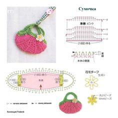 Diagram: Tiny Strawberry Bag