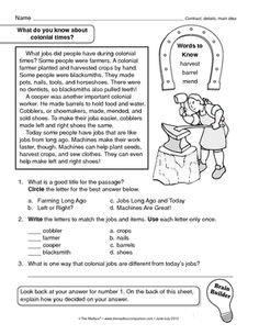 13 colonies worksheets 8th grade