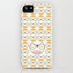 Owl pattern  1 iPhone Case by Maria Jose Da Luz - $35.00