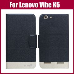 Hot Sale! For Lenovo Vibe K5 Case High Quality 5 Colors Fashion Flip Ultra-thin Leather Protective Cover Phone Bag