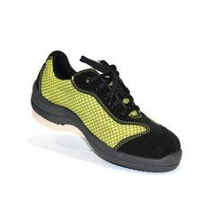 3fd687768700 Basket de sécurité reseda Lemaitre souple et ultra légère pour pieds  sensibles femme en textile alvéolé. LISASHOES