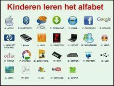 [Humor] Hoe kinderen anno 2013 het alfabet leren?