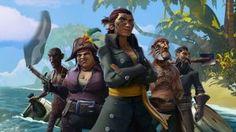 Sea of Thieves: Pirati ubriachi combattono nel nuovo gameplay