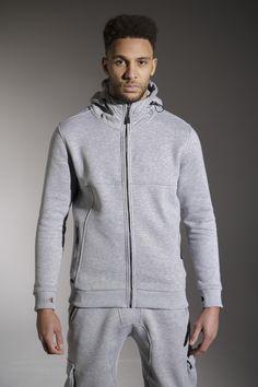 The 'KANE' Hood - £55 - http://www.voijeans.com/blackout/kane-sweat-grey-marl.html