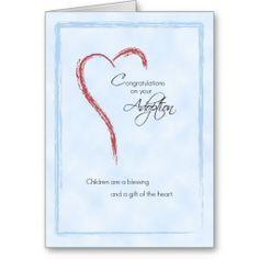 adoption+congrats+card+images | Boy Adoption Congratulations, Blue, Religious Greeting Card | Zazzle ...