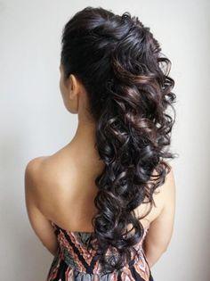 Heidi Marie Garrett Wedding Hairstyle Inspiration