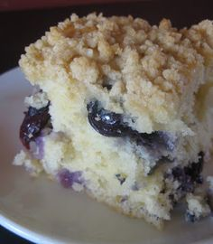 Every summer, during blueberry season, I visit family in Pennsylvania. We pick and eat blueberries by the bushel. This summer my great aunt . Just Desserts, Delicious Desserts, Dessert Recipes, Yummy Food, Brunch Recipes, Breakfast Recipes, Frosting Recipes, Fruit Recipes, Breakfast Casserole