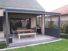 Alu Terrassenüberdachung 800 x 250 cm - A-Z Gartenhaus GmbH