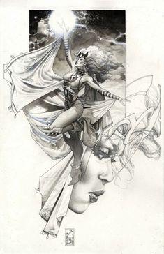 Storm by Simone Bianchi