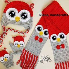 Owl Crochet Pattern Free, Crochet Baby Hat Patterns, Crochet Cross, Crochet Baby Clothes, Crochet Diagram, Crochet Baby Hats, Crochet Kids Scarf, Crochet Scarves, Bobble Stitch Crochet