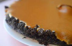 La tarte chocolat/caramel beurre salé, un goûter plus décadent qu'un volcan de sucre en éruption sur une ville de chocolat.
