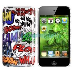 iPod touch 4g comic case