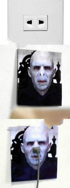 Creative photo sticker socket design 7-8. Oh dear ... I'm still giggling ...!