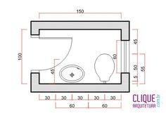 Imagini pentru projetos banheiros pequenos medidas