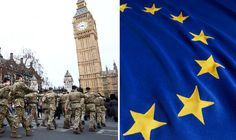 Minister says we CAN'T stop EU army as Brussels regularly overrules UK on foreign policy  BRITAIN will be completely powerless to stop the creation of an EU army because Brussels regularly overrules our elected Government on international affairs, a Foreign Office minister has warned today.  By NICK GUTTERIDGE, EXCLUSIVE PUBLISHED: 12:01, Sun, Jun 12, 2016
