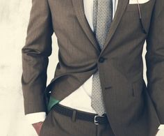 Suit and Tie.