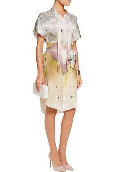 Maria Grachvogel Scylla printed silk crepe de chine dress