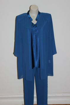 Pant Suit 12 | Isabella Fashions | Mother of the bride dresses, plus sizes, and evening wear. $339