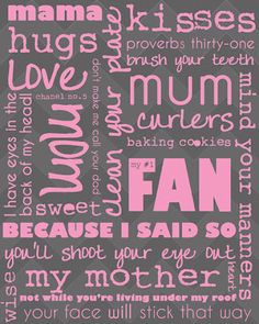 Free printables for Mother's Day 2012!