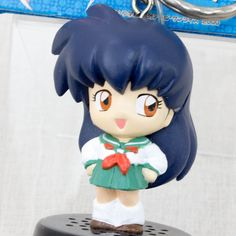 RARE! Inuyasha Kagome Sound Voice Figure Key Chian JAPAN ANIME MANGA