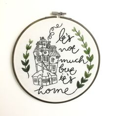 The Burrow Harry Potter Quote Embroidery Hoop Art by LarkRisingEmbroidery on Etsy https://www.etsy.com/listing/488075871/the-burrow-harry-potter-quote-embroidery