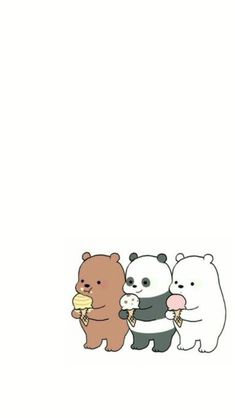 We bare bears cute sfondi