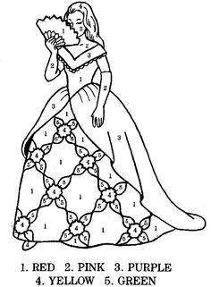 princess coloring page free color by numbers pages printable color by number pages