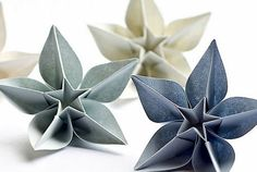 DIY ORIGAMI - Beautiful Paper Ornaments for Christmas