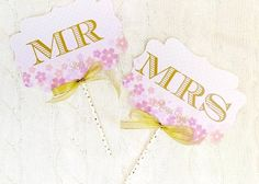 簡単にDIYできちゃう❤︎春の結婚式に使いたいフォトプロップスのアイデア一覧♡