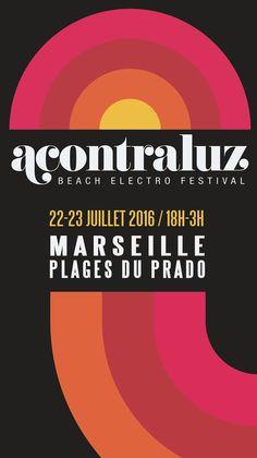 Festival Acontraluz 2016  #affiche #festival #musique