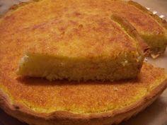 Cozinha com Graça: Tarte de coco Sweet Recipes, Cake Recipes, Healthy Recipes, Healthy Food, Portuguese Desserts, Cornbread, French Toast, Cheesecake, Deserts