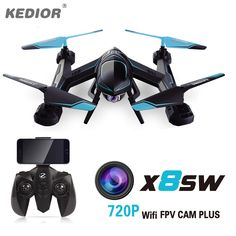 X8SW Multicopter RC Dron Quadcopter Drone with Camera HD Wifi FPV Quadrocopter 2.4G 6Axis Remote control Helicopter Toys //Price: $55.83 & FREE Shipping //     #VAPE