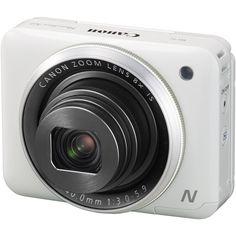 Canon PowerShot N2 Digital Camera (White) 16 MP $300