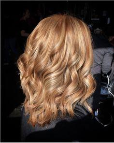 image result for strawberry blonde hair with blonde highlights frisuren pinterest haar. Black Bedroom Furniture Sets. Home Design Ideas