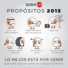 #newyear #propósitos #metas #sushipop #goals #wishes Sushi Pop, The Best Is Yet To Come, Healthy Living, Goals