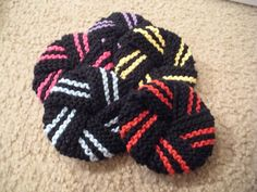 These make great kitchen scrubbies that you can throw in the washer over and over to sanitize.  Easy to make.