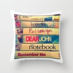 Let's cuddle and watch movies Throw Pillow by beoriginal - $20.00