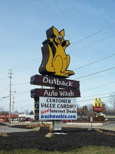 Outback Auto Wash..... Painesville, Ohio.