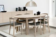 Ovale tafel SM 78 • Noordkaap Meubelen Dining Table, Interior Design, Furniture, Home Decor, Nest Design, Decoration Home, Home Interior Design, Room Decor, Dinner Table