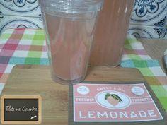 Telita na Cozinha: pink lemonade