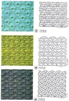 Best 11 Tina's handicraft : long-sleeve crochet shirt – SkillOfKing. Hexagon Crochet Pattern, Crochet Diagram, Crochet Blanket Patterns, Crochet Motif, Crochet Designs, Stitch Patterns, Knitting Patterns, Free Crochet, Crochet Stitches Chart