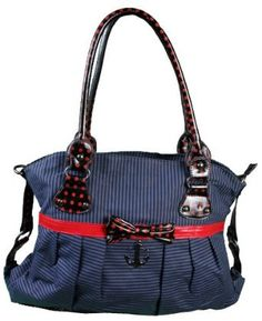 Iron Fist Sinking Ships Casual Handbag $60.00
